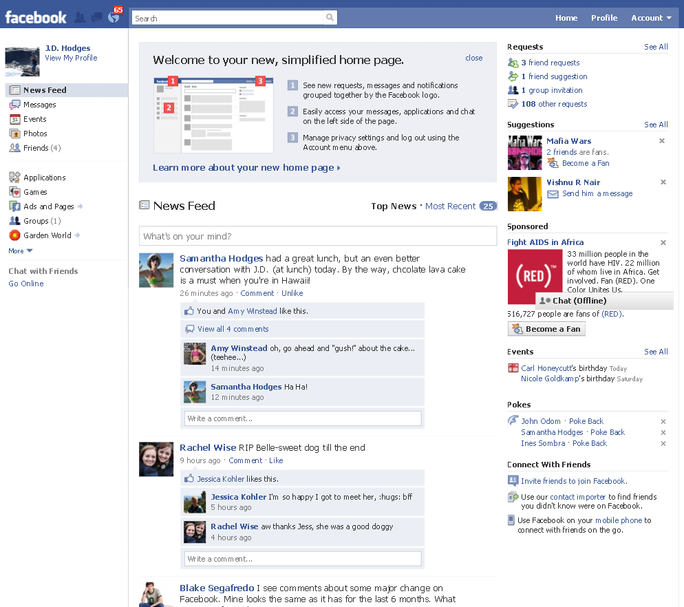 how to turn off my page likes on facebook