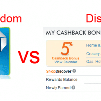 Chase Freedom vs Discover Card Cashback