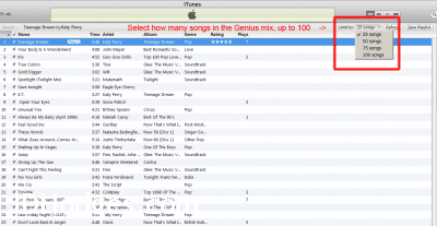 how to turn on genius in itunes