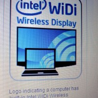 Intel's awesome WiDi Logo Photo