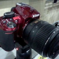 Photo of RED Nikon D3100 DSLR camera