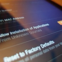 Allow Installation of Applications From Unknown Sources