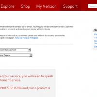 Cancel my Verizon account plan service