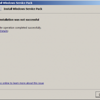 Crazy Windows 7 Service Pack error message@