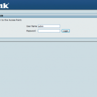 dlink-dap-default-username-password-screenshot