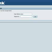 dlink-dap-default-username-password-screenshot