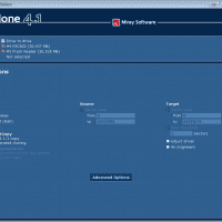 Cloning one microsd card to another using HDClone 4.1