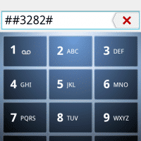 ##3282# (aka ##data#) to access phone settings