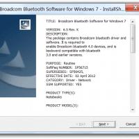 Driver installation screenshot