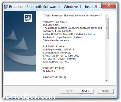 broadcom bcm20702 bluetooth 4.0 usb device driver error