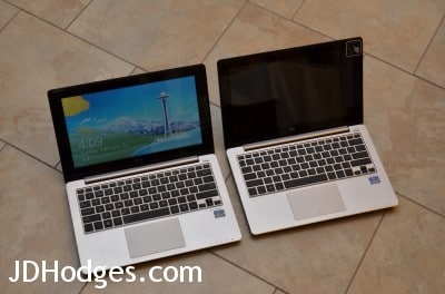 S200E (left) and X202E (right) these machines are virtually identical!