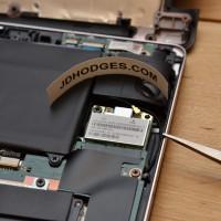 Closeup of S200E wifi card