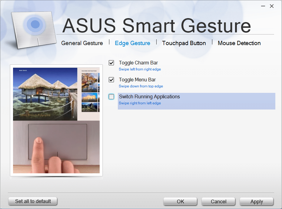 Télécharger asus smart gesture