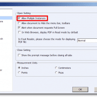 Check the 'Allow Multiple Instances' box