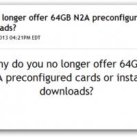 64GB N2A Cards