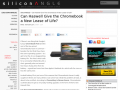 Can Haswell Give the Chromebook a New Lease of Life?