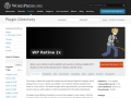 WordPress › WP Retina 2x « WordPress Plugins