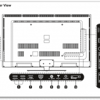 SE39UY04 4K LED TV manual in PDF format