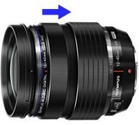 Olympus 12-40mm manual focus clutch