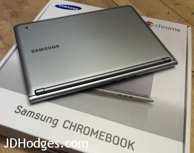 Samsung Chromebook closed