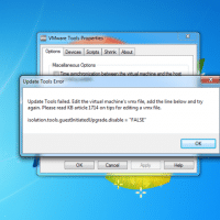 VMWare Tools Update Failure [SOLVED]