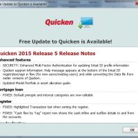 Quicken 2015 R5 release notes