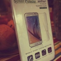 Galaxy S6 Screen Protector, amFilm Tempered Glass (Front) and PET (Back) Screen Protector for Samsung Galaxy S6