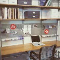 Elfa home office layout