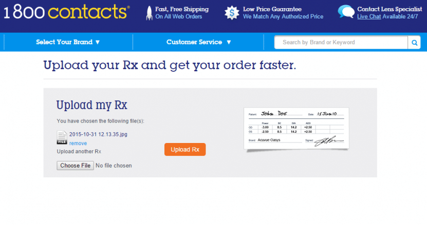 800 contacts coupon code