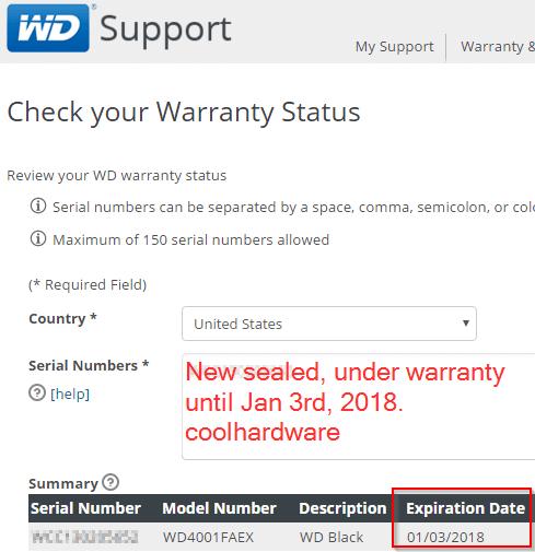 Under Factory Warranty