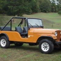 Jeep CJ-6 has a very long wheelbase compared to the CJ-5
