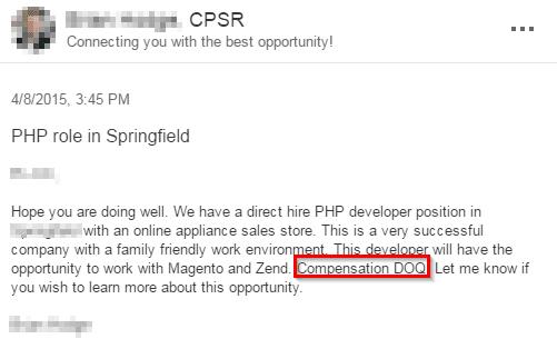 DoQ job offer