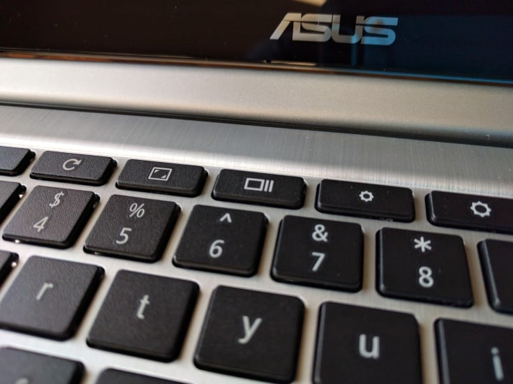 ASUS Chromebook Keyboard