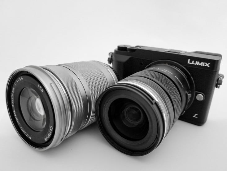 Panasonic Body with Olympus Lenses