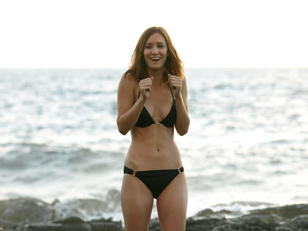 Black Bikini Candid Wife 2008