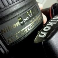 Nikon D7000 DSLR and 50mm f1.8