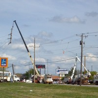 Drunk driver hits power line pole & knocks out power in Springfield