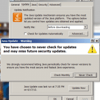 Disable Java Auto Updater on Windows 7 stop pop-up [SOLVED]