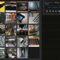 Screenshot of Pebble's imgur gallery