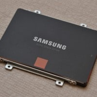 Samsung 840 SSD ready to be installed in S200E