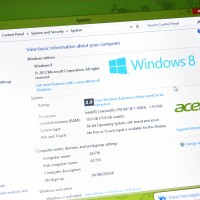 Windows 8 system information showing 16B RAM