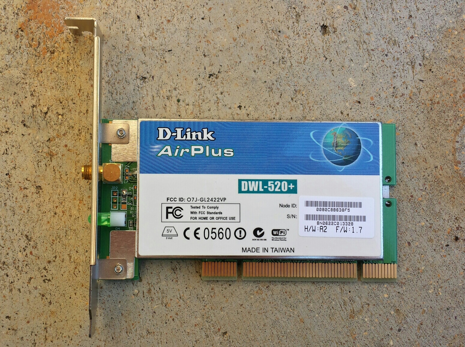 D-LINK AIRPLUS DWL-520 WIRELESS DRIVER DOWNLOAD