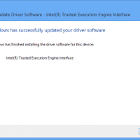 Update Driver Software - Intel(R) Trusted Execution Engine Interface