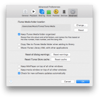"""Uncheck """"copy files to iTunes Media folder when adding to Library"""""""
