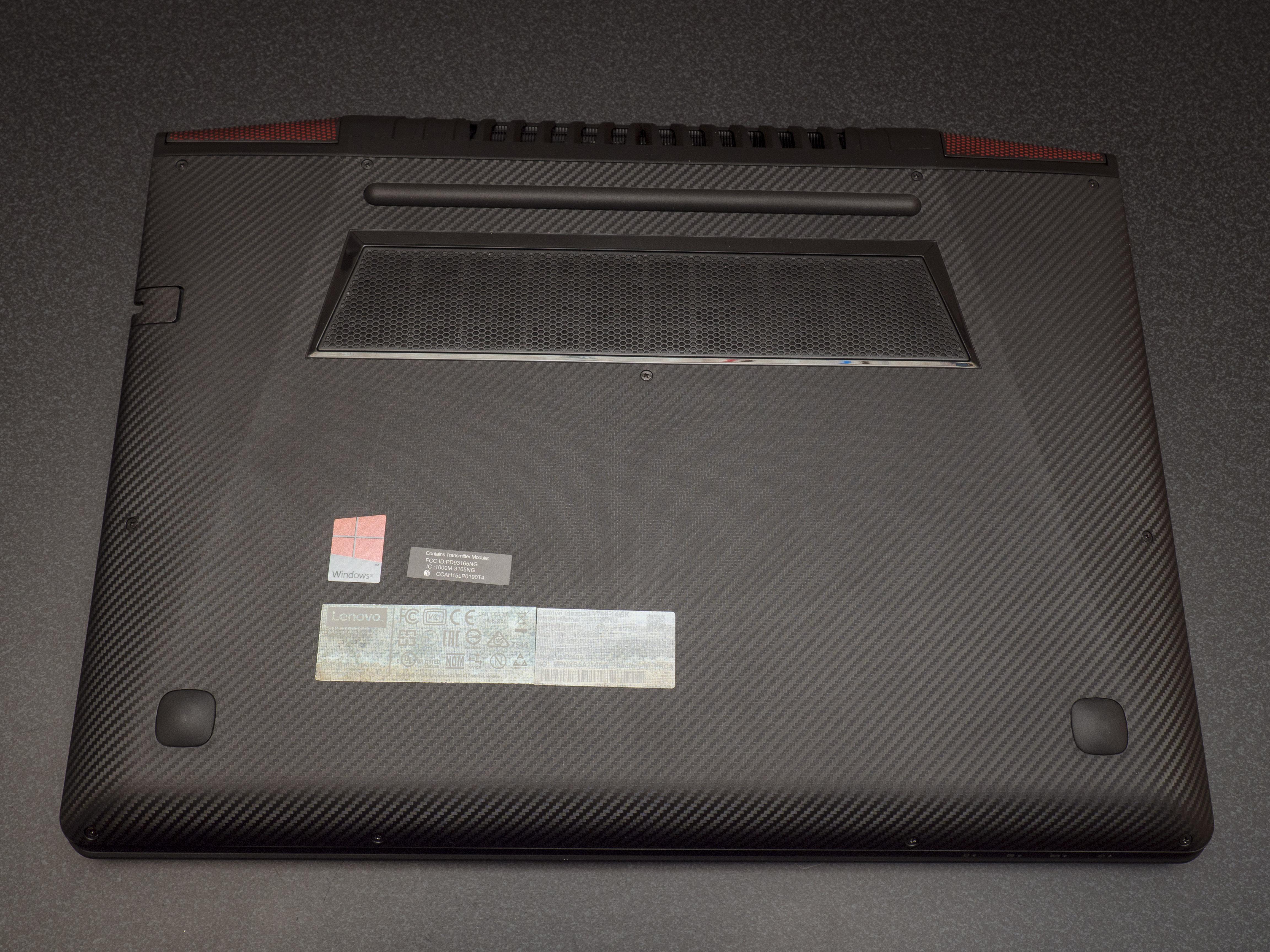Lenovo IdeaPad Y700 14″ SSD & RAM upgrade [photos]