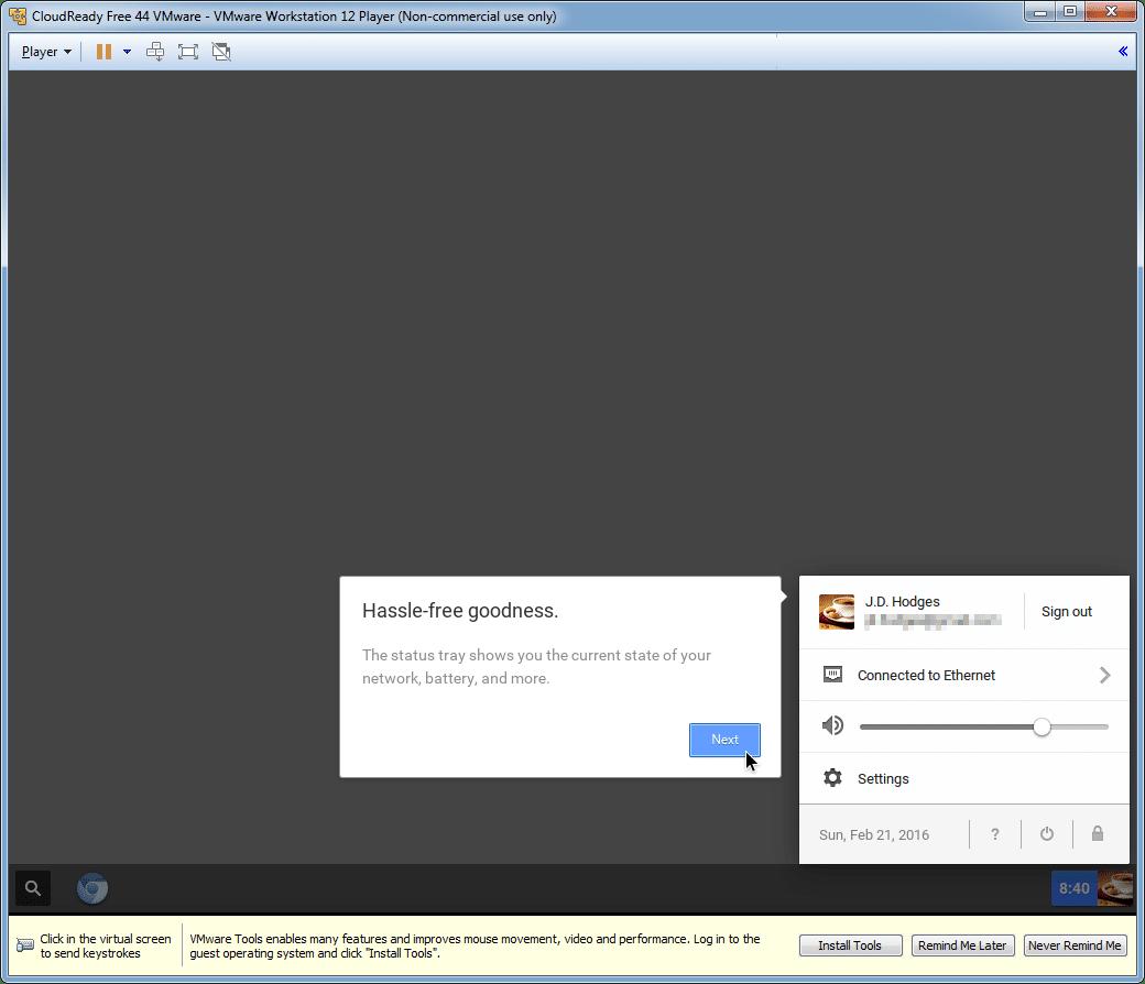 Neverware CloudReady VM (for VMWare/VirtualBox) [FREE]