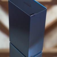 Amazon Echo product packaging frontal shot