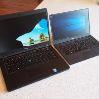 Both nice screens, but I prefer the XPS 13