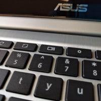 ASUS Chromebook Keyboard