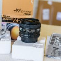 Nikon 35mm f2D Unboxing